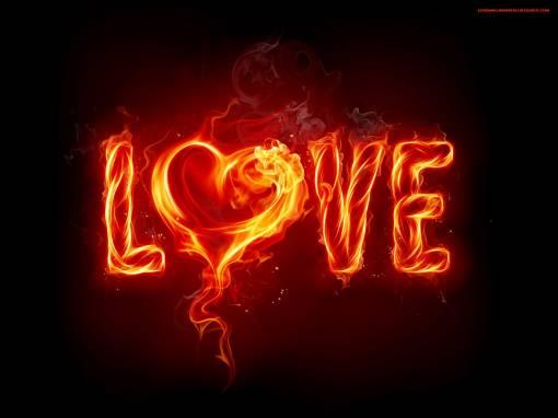 Горячая любовь обои, фото, картинки. Горячая, огненная любовь.