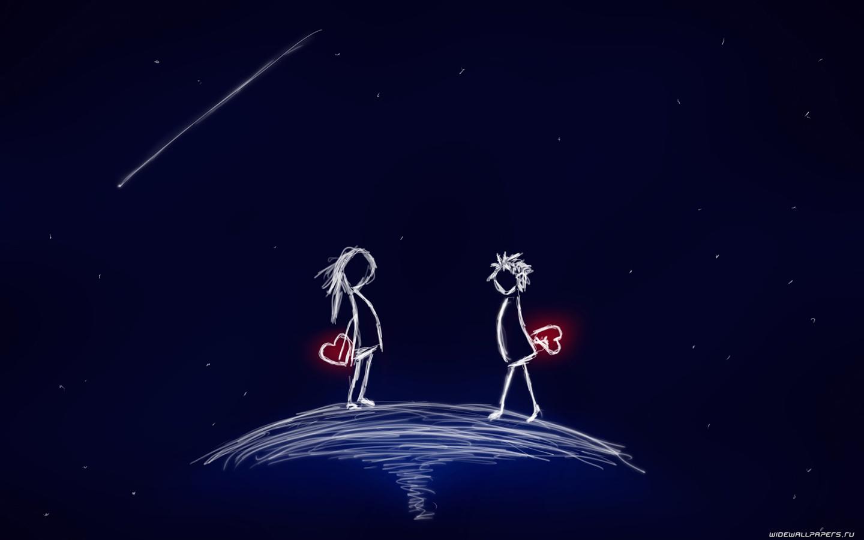 Любовь обои фото рисунок любви
