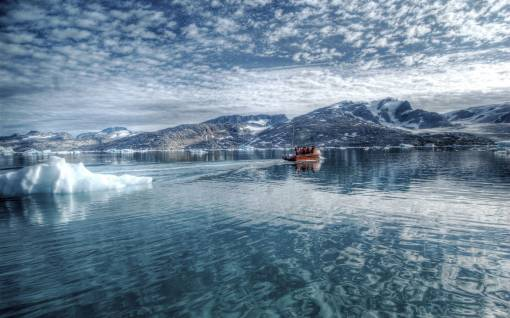 Рыбалка у гор обои картинки фото