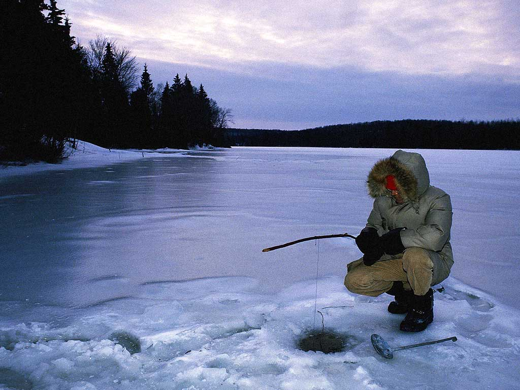 домик для зимней рыбалки