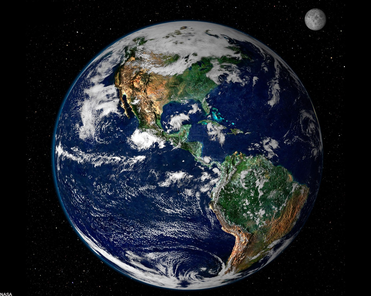 Космос вид нашей планеты из космоса