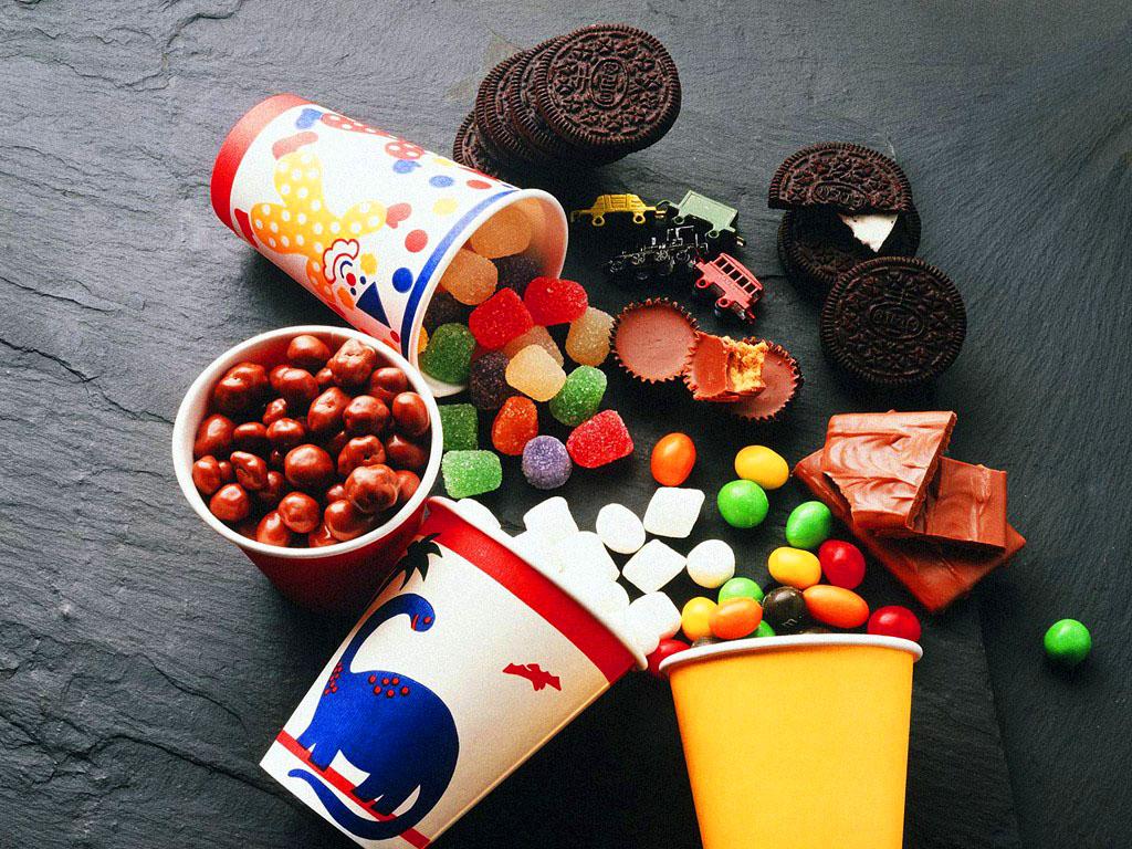 Сладости обои фото мармелад конфеты